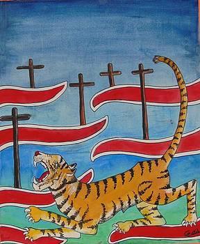 Tippu's Tiger verses British by Chandra Patil