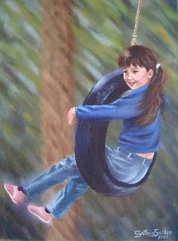 Tire Swing by Cynthia Snider