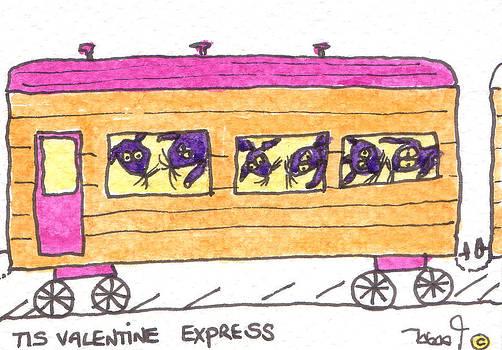 Tis Valentine Express by Tis Art