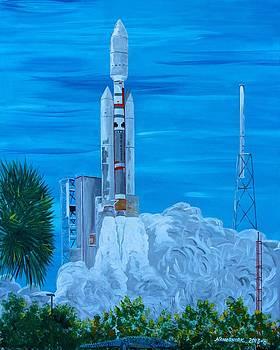 Titan IV by Mike Nahorniak