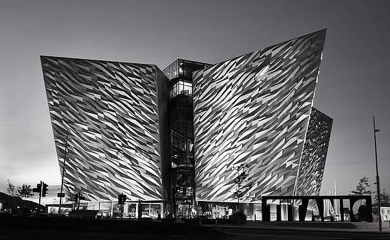 Titanic Museum Black and White  by Peter McAuley