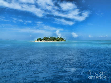 Tivua Island awaits you by Karen Lewis