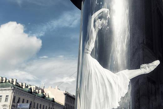 Let's dance the clouds away by Michel Verhoef