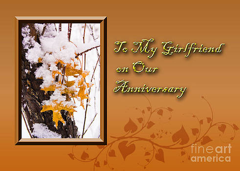 Jeanette K - To My Girlfriend on Our Anniversary