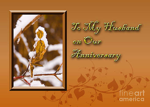 Jeanette K - To My Husband on Our Anniversary Leaf