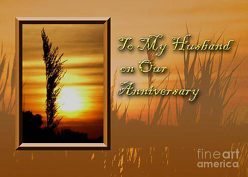 Jeanette K - To My Husband on Our Anniversary Sunset