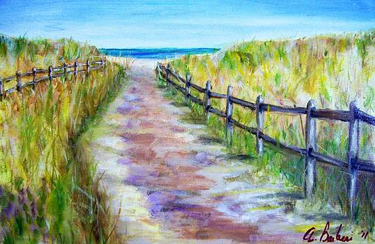 To The Beach by Anne Barberi