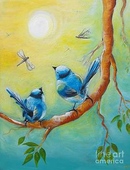 'Together' enjoying twilight symphony by Soma Mandal Datta
