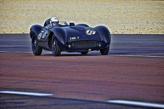 Tojeiro Jaguar by Peter Falkner
