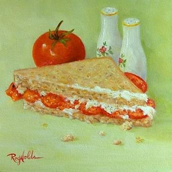 Tomato Sandwich Half by Carol Reynolds