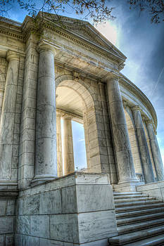 Tomb of the Unknown Soldier at Arlington National Cemetery by Eric March