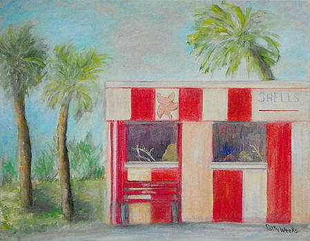 TOM'S Old Florida Gift Shop by Patty Weeks