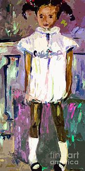 Ginette Fine Art LLC Ginette Callaway - Tonya was a shy Girl Child Portrait