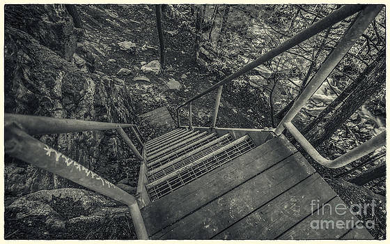Top of Stairs by Aaron Campbell