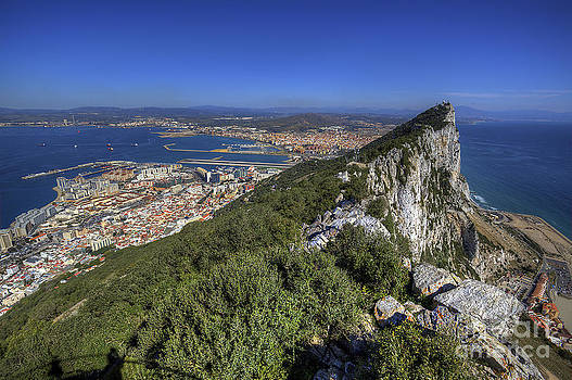 English Landscapes - Top Of The Rock Of Gibraltar