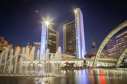 Toronto City Hall by India Blue photos