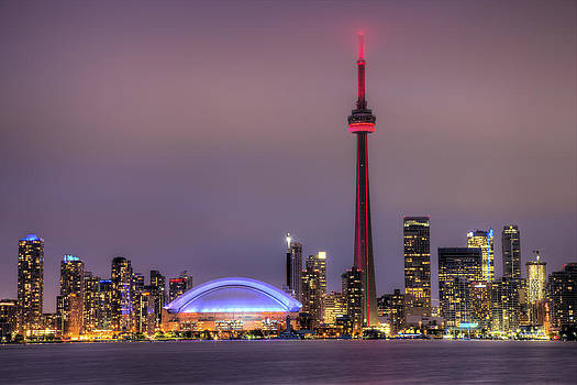 Toronto Skyline by Shawn Everhart