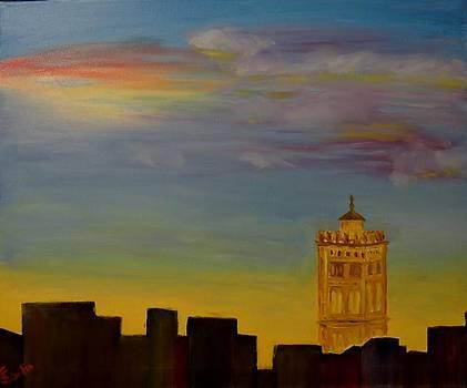 Torre de la Magdalena en Zaragoza by Juan Sandin