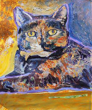 Tortie Kitty by Yvonne Gaudet