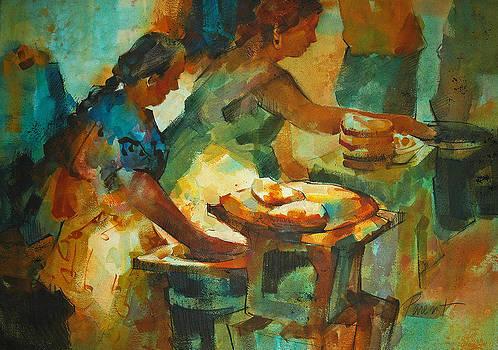 Tortillas Caliente by Roger Parent