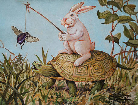 Tortoise and The Hare by Henry David Potwin