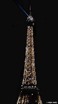 Tour Eiffel - Paris by J Morgan Massey