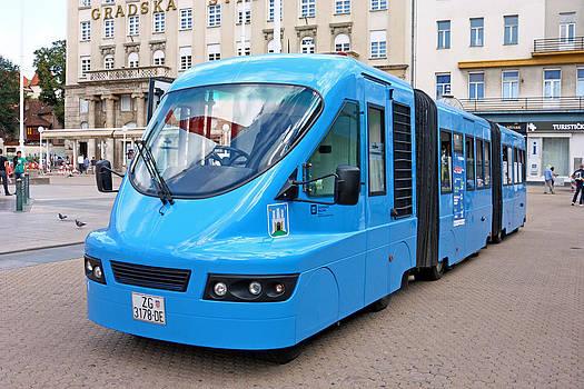 Touristic train by Borislav Marinic