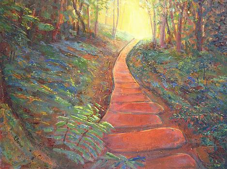 Towards the Light by Robie Benve