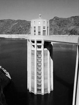Tower at Hoover Dam by Patricia Erwin
