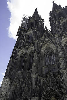 Teresa Mucha - Tower Scaffolding Cologne Cathedral