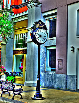 Town Clock by Mike Bass