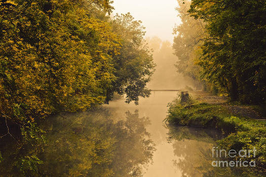 Towpath on the Champlain Canal by Julie Palyswiat
