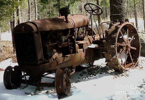 Gail Matthews - Tractor Old Rusty and Deserted