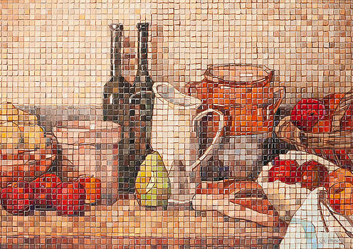 Traditional Mosaic by Edee Proctor