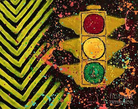 Traffic Jam Cropped by Marina McLain