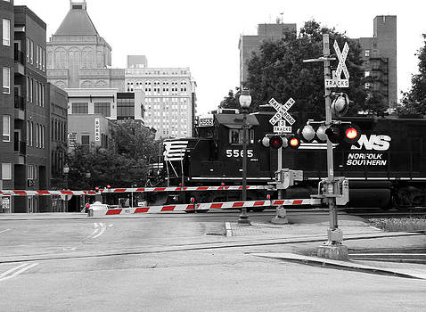Train Crossing by Sandi OReilly