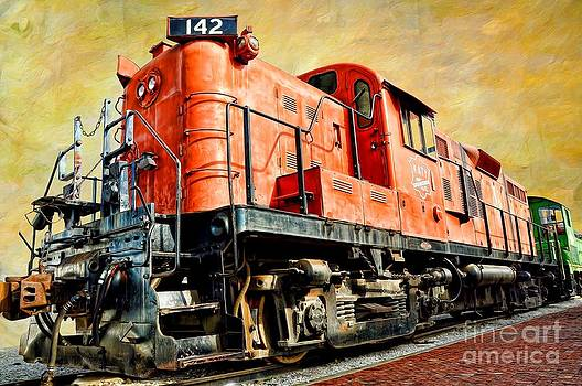 Liane Wright - TRAIN - MKT 142 - RS3M EMD Repowered ALCO