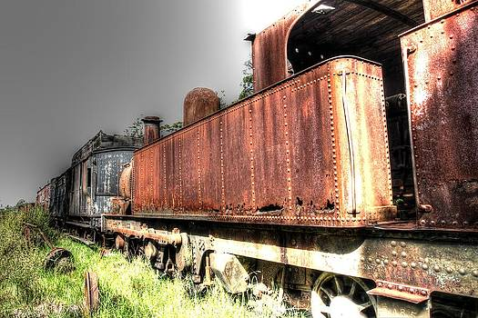 Train to no-where. by Ian  Ramsay