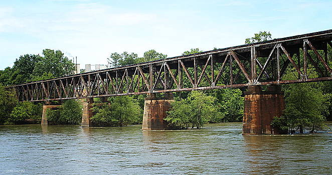 Train Trestle by Greg Simmons