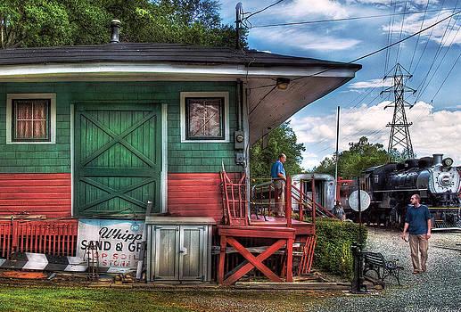 Mike Savad - Train - Yard - The Train Station