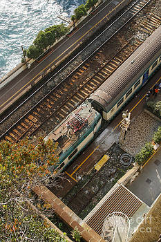 Patricia Hofmeester - Trainstation in Italy near the sea