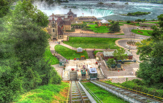 Tram To The Falls by Cindy Haggerty