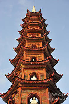 Tran Quoc Pagoda in Hanoi by Sami Sarkis