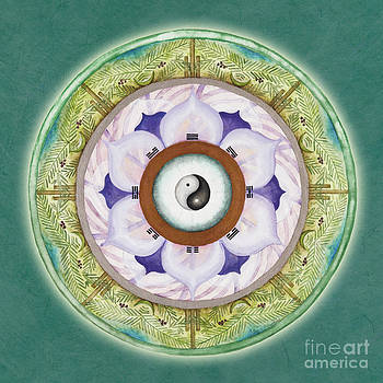 Tranquility Mandala by Jo Thomas Blaine