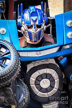 Kathleen K Parker - Transformer Man Mime