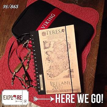 Travel Journal. Getting Ready For My by Teresa Mucha