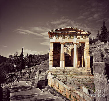 Treasury of Athens by Eric Liller