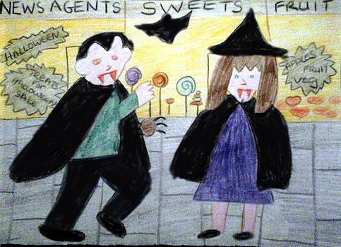 Treats on Halloween by Julie Dunkley