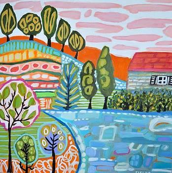 Tree Farm Landscape  by Karen Fields