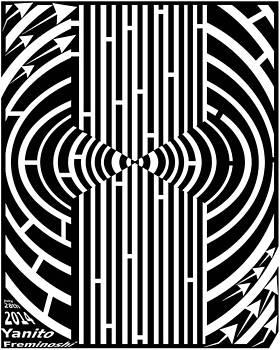 Tree Hugging Maze by Yanito Freminoshi